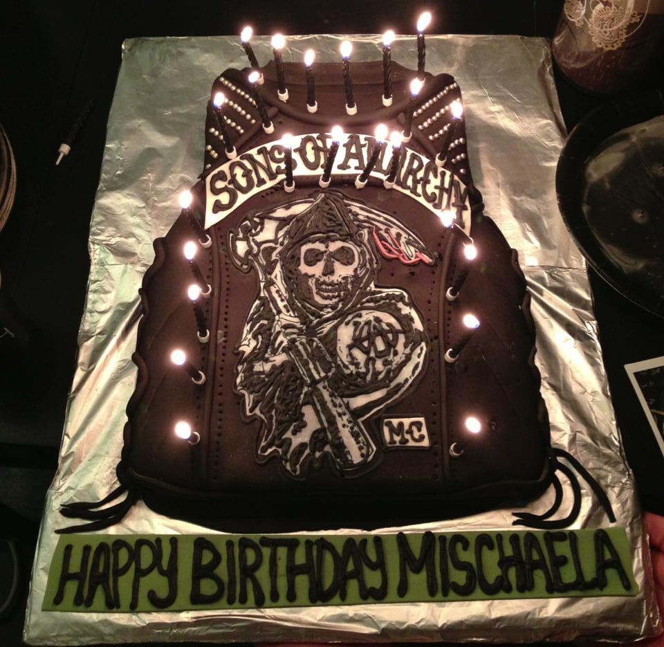 Happy Birthday Sons Of Anarchy Cake